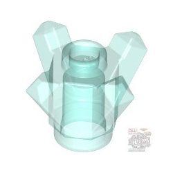 Lego Crystal W/Cored Knob, Transparent light blue