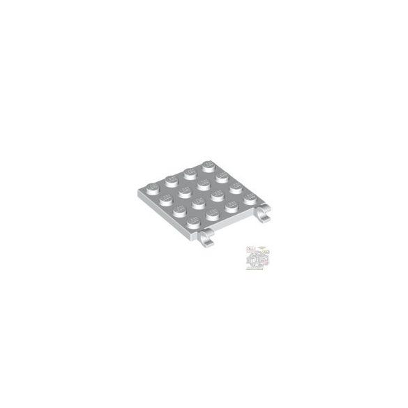 Lego PLATE 4X4 W/VERTICAL, White