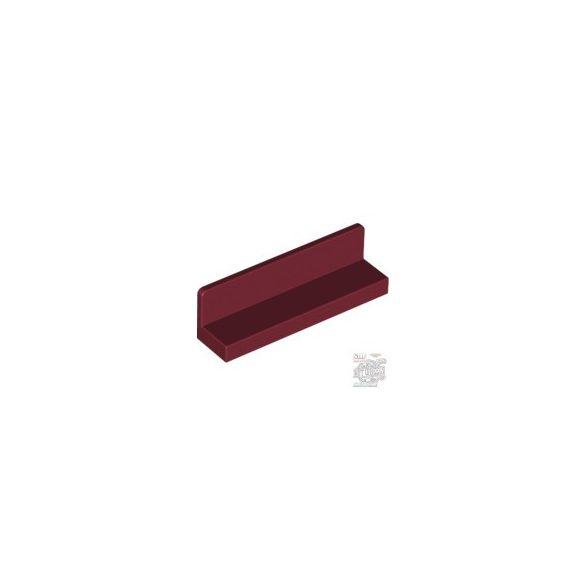 Lego WALL ELEMENT 1X4X1 ABS, Dark red