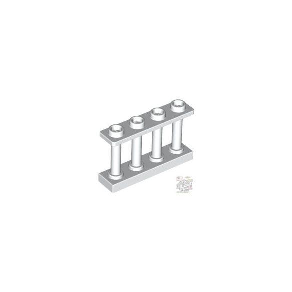 Lego Fence 1X4X2 W. 4 Knobs, White