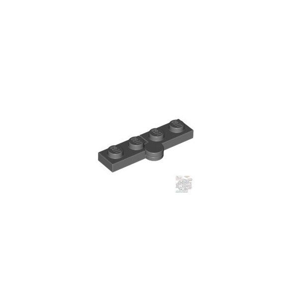 Lego Hinge Plate 1X2, Dark grey
