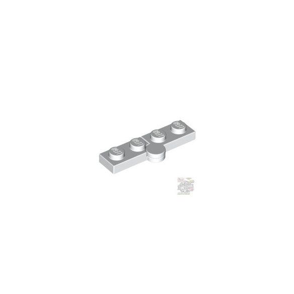 Lego HINGE PLATE 1X2, White
