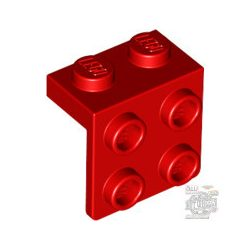 Lego ANGLE PLATE 1X2 / 2X2, Bright red