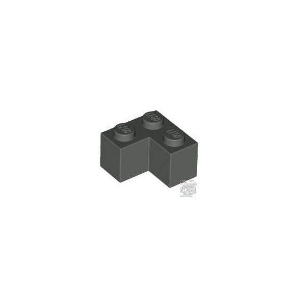 Lego Brick Corner 1X2X2, Dark grey