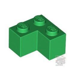 Lego BRICK CORNER 1X2X2, Green