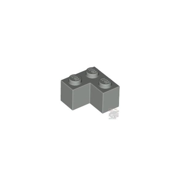 Lego Brick Corner 1X2X2, Light grey