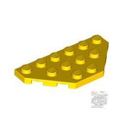 Lego CORNER PLATE 3X6, Bright yellow
