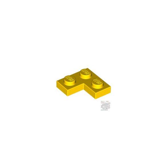 Lego CORNER PLATE 1X2X2, Bright yellow