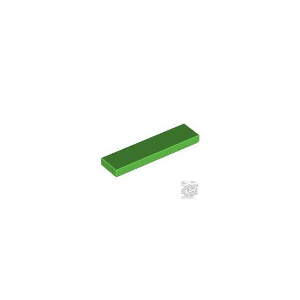 Lego FLAT TILE 1X4, Bright green