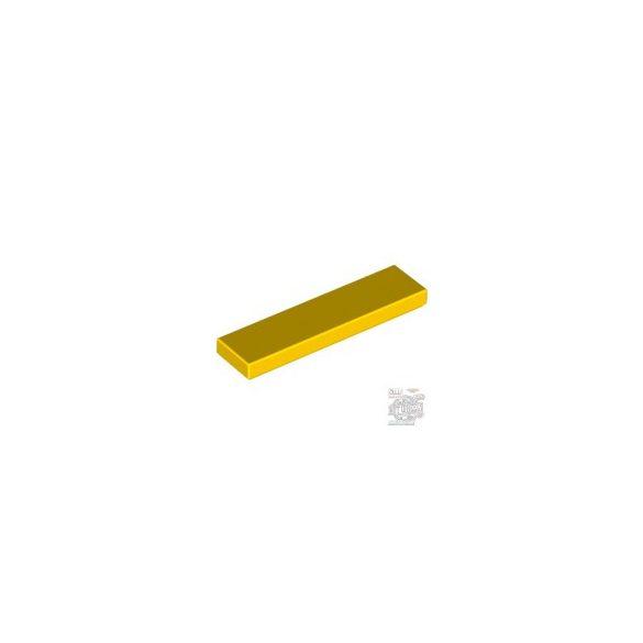 Lego Flat Tile 1X4, Bright yellow