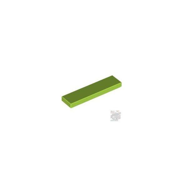 Lego Flat Tile 1X4, Bright yellowish green