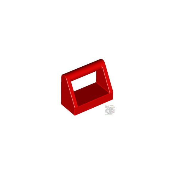 Lego CLAMP 1X2, Bright red