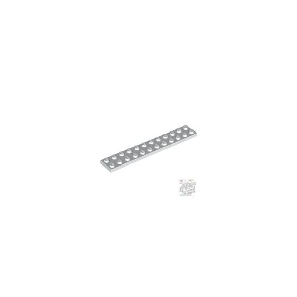 Lego Plate 2X12, White