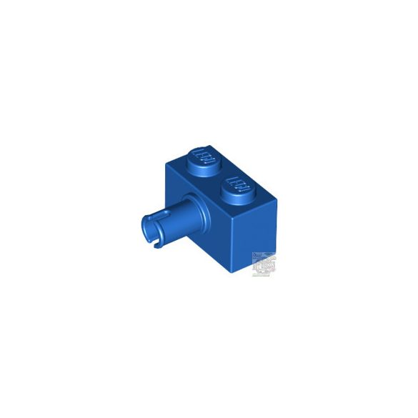 Lego BRICK 1X2 W. HORIZONTAL, Bright blue