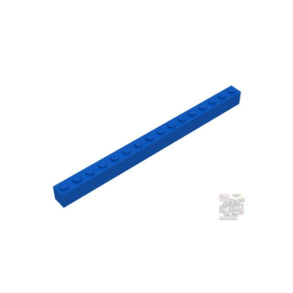 Lego BRICK 1X16, Bright blue