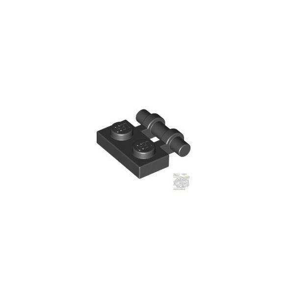 Lego PLATE 1X2 W. STICK, Black
