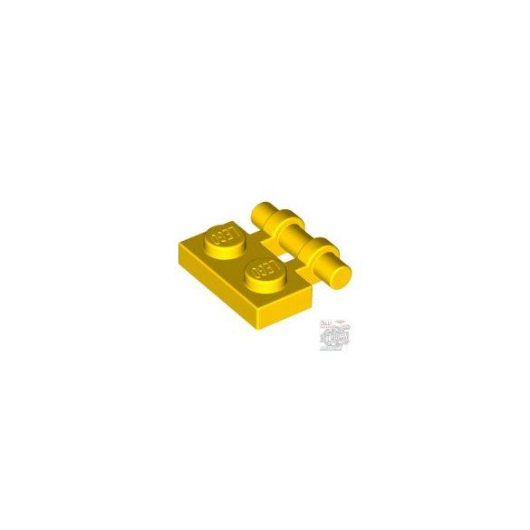 Lego PLATE 1X2 W. STICK, Bright yellow