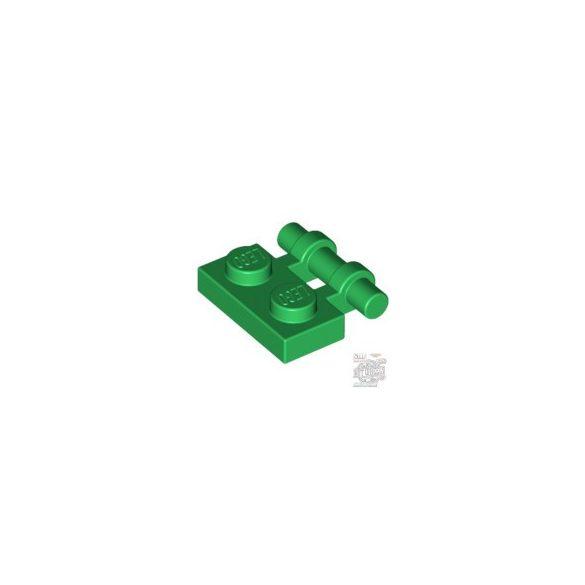 Lego Plate 1X2 W. Stick, Green