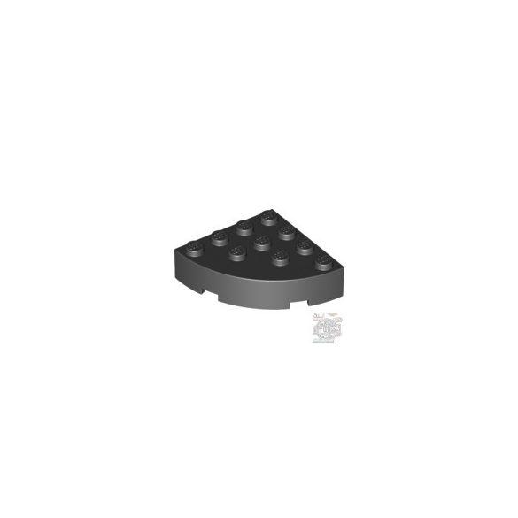 Lego Brick 4X4 ¼ Circle, Black