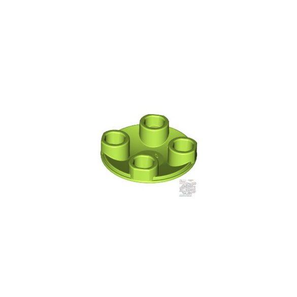 Lego LIDE SHOE ROUND 2X2, Bright yellowish green
