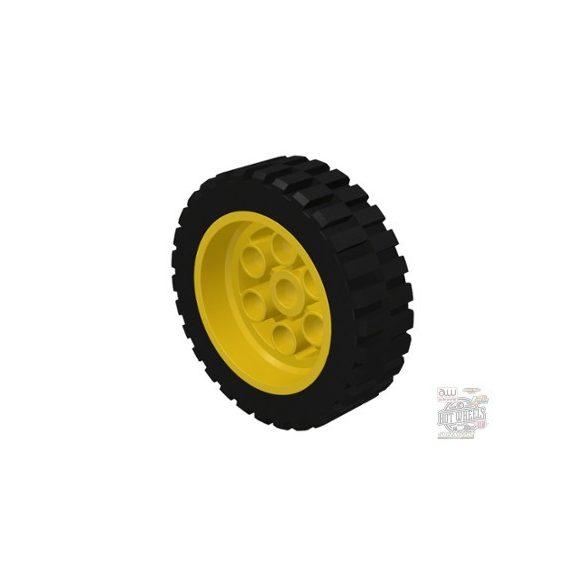 Lego Technic Wheel 30mm D. x 13mm (13 x 24 Model Team), with Black Tire 13 x 24 Model Team (2695 / 2696)