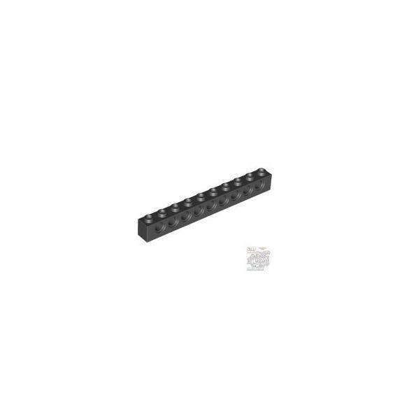Lego Technic Brick 1X10 Ø4.9, Black