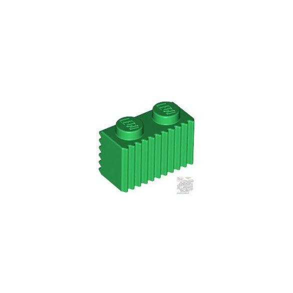 Lego Profile Brick 1X2, Green
