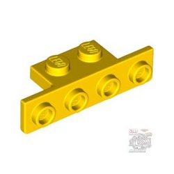 Lego ANGLE PLATE 1X2/1X4, Bright yellow