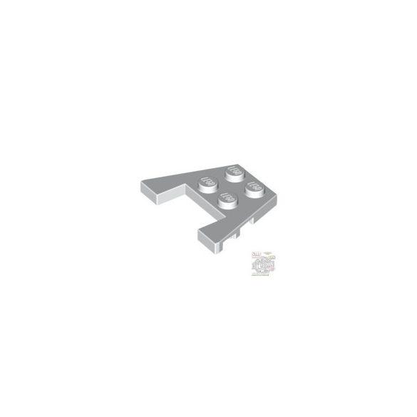 Lego PLATE 3X4 W/ANGLES, White