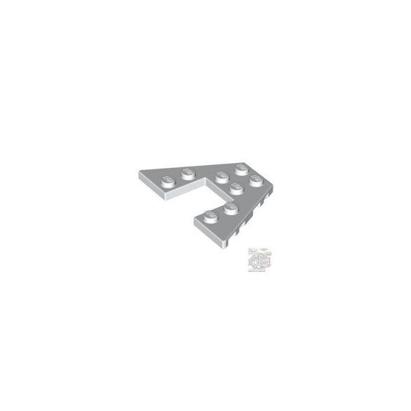 Lego PLATE 6X4 W/ANGLE, White