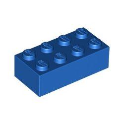 Lego Brick 2X4, Bright blue