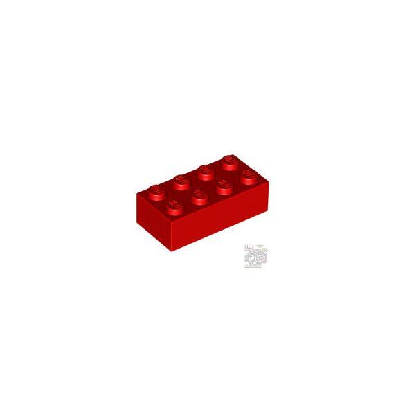 Lego BRICK 2X4, Bright red