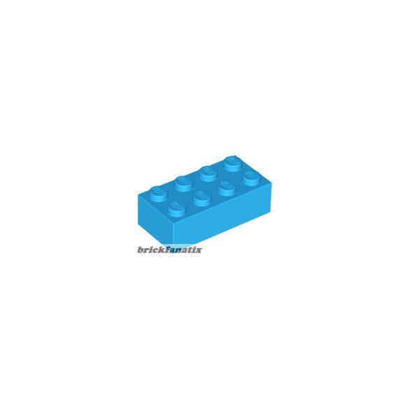 Lego Brick 2x4, Dark azur