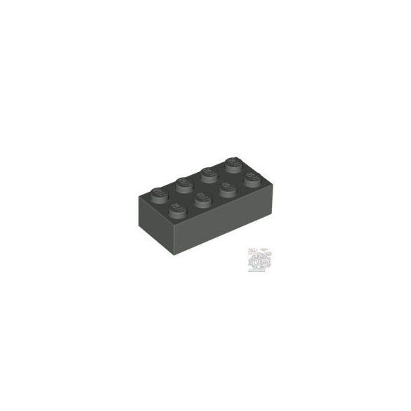 Lego Brick 2X4, Dark grey