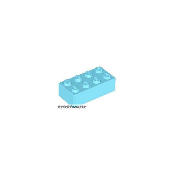 Lego BRICK 2X4, Medium azur