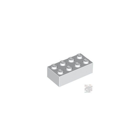 Lego Brick 2X4, White