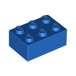 Lego Brick 2X3, Bright blue