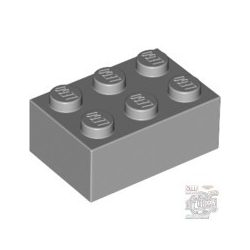 Lego Brick 2X3, Light grey