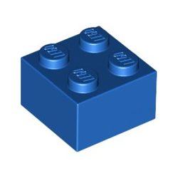 Lego Brick 2X2, Bright blue