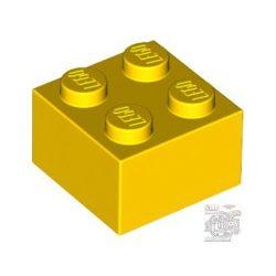 Lego BRICK 2X2, Bright yellow
