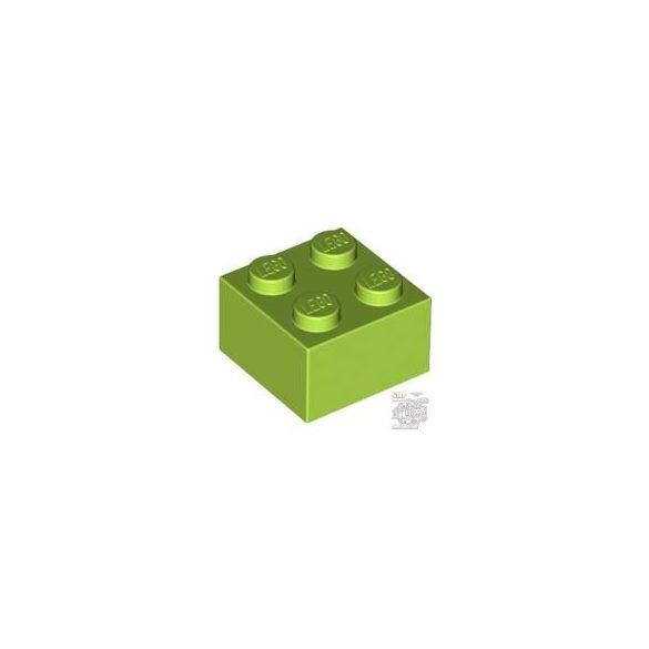 Lego Brick 2X2, Bright yellowish green