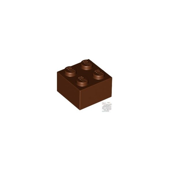 Lego Brick 2X2, Reddish brown