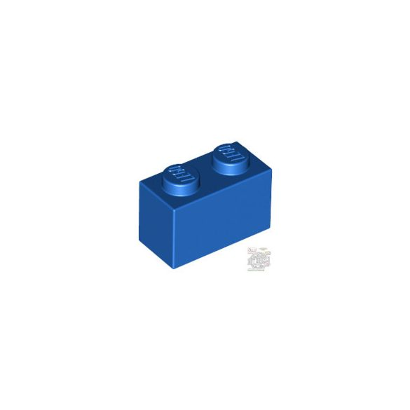 Lego BRICK 1X2, Bright blue