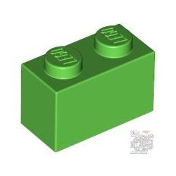 Lego BRICK 1X2, Bright green