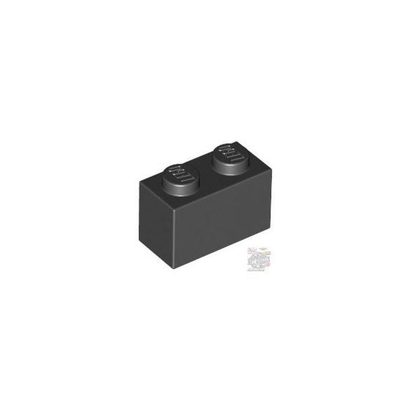 Lego BRICK 1X2, Black