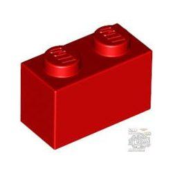 Lego BRICK 1X2, Bright red