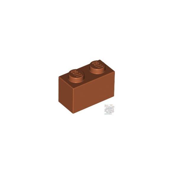Lego Brick 1x2, Dark orange