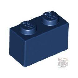 Lego BRICK 1X2, Earth blue