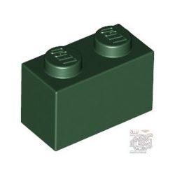 Lego BRICK 1X2, Earth green