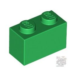 Lego Brick 1x2, Green